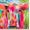 Camelot 'Farmyard Colour II' by J. Brooks Art Print Unwrapped on Canvas