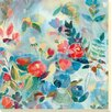 Camelot 'Garden Light II' by Joan Elan Davis Art Print Unwrapped on Canvas