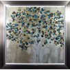 Camelot 'A Teal Tree' by Katrina Craven Framed Art Print