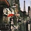 """Camelot Leinwandbild """"Romance in The City II"""" von Pierre Benson, Fotodruck"""