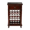 OSP Designs 16 Bottle Floor Wine Rack