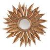 OSP Designs Orleans Sunflower Decorative Beveled Wall Mirror