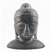 Timbergirl Ceramic Buddha Head Bust