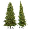 Sterling Inc. 7' Tiffany Pine Half Christmas Tree with 350 Clear Lights with Stand