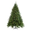 Sterling Inc. 7.5' Green Grand Canyon Spruce Christmas Tree with 1200 Clear Lights with Stand