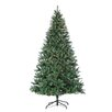 Sterling Inc. 8' Green Hudson Pine Christmas Tree with 700 Clear Lights with Stand