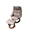 World Source Design Hana Recliner and Ottoman