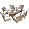 Firmans Direct Paloma 6 Seater Dining Set with Cushions