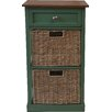 Firmans Direct Annora 1 Drawer 2 Basket Chest