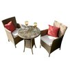 Firmans Direct Paloma 2 Seater Bistro Set with Cushions