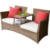 Firmans Direct Paloma KD Polyrattan Tete-a-Tete Bench