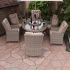 Firmans Direct Essence 6 Seater Dining Set with Cushions