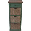 Firmans Direct Annora 1 Drawer 3 Basket Chest