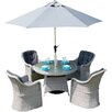 Firmans Direct Ira 5 Piece Dining Set