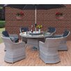 Firmans Direct Ira 7 Piece Dining Set