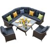 Firmans Direct Ira 5 Piece Corner Dining Set