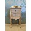 Firmans Direct La Rochelle 2 Drawer Bedside Table
