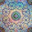 "Salty & Sweet ""Flowered Mosaic"" Canvas Art"