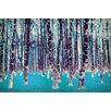 Salty & Sweet Lucid Birch Art on Canvas
