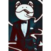 "Salty & Sweet ""Mr. Frog"" Canvas Art"