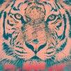 "Salty & Sweet ""Orange Tiger"" Graphic Art on Canvas"