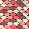 """Salty & Sweet """"Pastel Pattern 3"""" Graphic Art on Canvas"""