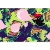 "Salty & Sweet ""Bubble Bird"" Canvas Art"