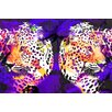 """Salty & Sweet """"Leopard Skin"""" Graphic Art on Canvas"""