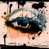 "Salty & Sweet ""Abstract Eye"" Painting Print on Canvas"