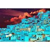 "Salty & Sweet ""Hillside At Midnight"" Graphic Art on Canvas"