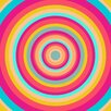 Salty & Sweet Psychedelic Swirl Graphic Art on Canvas