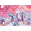 Salty & Sweet Centre Liquid Graphic Art on Canvas