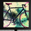 "Salty & Sweet ""Space Bike Reverse"" Graphic Art on Canvas"