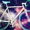"Salty & Sweet ""Space Bike"" Canvas Art"