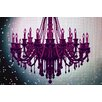 Fluorescent Palace 'Cosmic Glitter' Photographic Print on Canvas