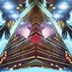 "Fluorescent Palace ""Fashion Towers"" Canvas Art"