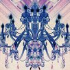 "Fluorescent Palace ""Royalty Blue"" Canvas Art"