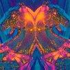 "Fluorescent Palace ""Disco Stallions"" Canvas Art"