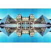 Fluorescent Palace Divine Reflections One Graphic Art on Canvas