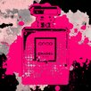 Fluorescent Palace Mademoiselle Cherry Graphic Art on Canvas