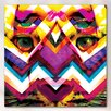 "Fluorescent Palace ""Fierce"" Canvas Art"