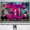 """Fluorescent Palace """"The High Life"""" Graphic Art on Canvas"""