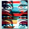 "Fluorescent Palace ""Eye Candy"" Canvas Art"
