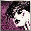 "Fluorescent Palace ""Girl Panic"" Canvas Art"