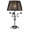 """ORE Furniture Crystal Rose 28"""" H Table Lamp with Empire Shade"""