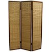 """ORE Furniture 70.25"""" x 52"""" Bamboo 3 Panel Room Divider"""