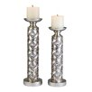 ORE Furniture 2 Piece Candlestick Set