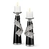 ORE Furniture Stellaire 2 Piece Candlestick Set