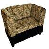 ORE Furniture Leopard Storage Dog Sofa Bed