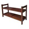 ORE Furniture Stackable 2-Tier Shoe Rack